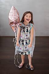 Detské oblečenie - Šaty s vlečkou - balerína I - 9348940_