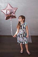 Detské oblečenie - Šaty s vlečkou - balerína I - 9348941_