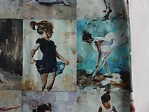 Detské oblečenie - Šaty s vlečkou - balerína I - 9348955_