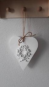 Dekorácie - Biela láska - 9350654_