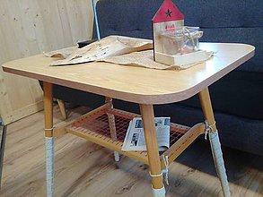 Nábytok - retro stolik 1623/ll lacno - 9350594_