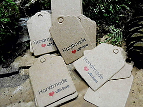 Papier - Visačka Handmade - 9348511_