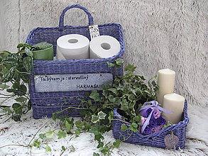 Košíky - Koš  na toaletý papier. - 9349262_