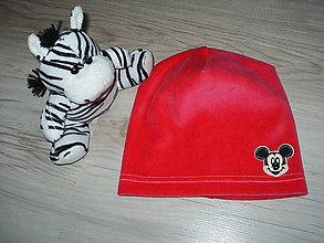 Detské čiapky - čiapočka z plyšu - 9348040_