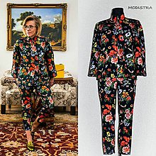 Iné oblečenie - Kvetovaný kostým-Zľava 20%! - 9350435_