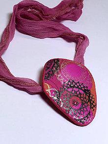 Náhrdelníky - náhrdelník mandalový - 9355333_