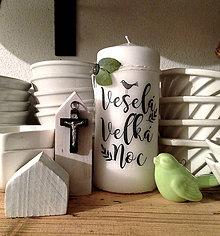 Svietidlá a sviečky - Sviecka Velkonocna II. - 9355040_