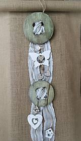 Dekorácie - Gombíková nálada s motýlikmi na želanie - 9354226_