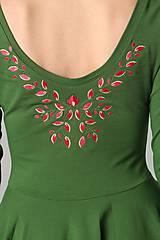 Šaty - Jewel green - 9352159_