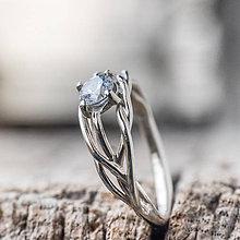 Prstene - Snubáčik v zlate - 9355254_