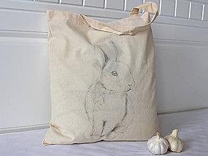 Nákupné tašky - Nákupná taška zajačik - 9352659_
