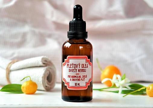 Pleťový olej Svieže neroli (50 ml)