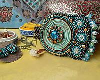 Sady šperkov - Kishanpole Bazar - vyšívaný set - 9353363_