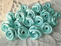 Iné doplnky - Saténové ružičky priemer 2,5cm - 9354404_