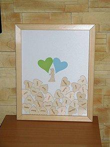 Papiernictvo - svadobná kniha hostí 9 - 9351879_