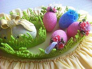 Dekorácie - Veľkonočné vajíčko polystyrénové - 9354424_