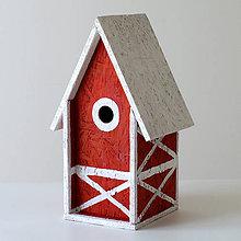 Pre zvieratká - Búdka pre vtáčiky - 9353683_
