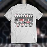 Tričká - Čičmany 1. (dámske alebo pánske tričko) - 9355124_