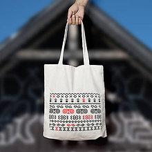 Nákupné tašky - Čičmany 1. (bavlnená taška) - 9354757_