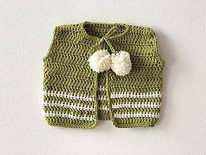 Detské oblečenie - Bombuľkový kardigán / Pom Pom Cardigan - 9352604_