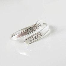 Prstene - MiniMe / Twin (Otvorený) - 9354658_