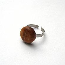 Prstene - Čerešňový vypuklý - 9354672_