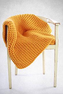 """Úžitkový textil - Merino deka """"Lala"""" - 9358542_"""