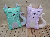 Textil - Vankúš mačka - 9358834_