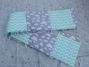 Textil - Mantinel do postieľky - 9358679_