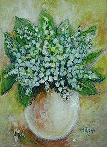 Obrazy - Zvončekový kvet - 9355551_