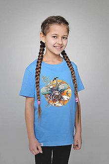 Detské oblečenie - Detské tričko - Muška Norbert - 9356551_