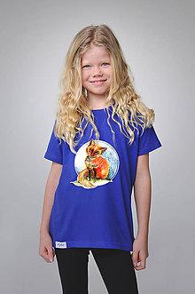Detské oblečenie - Detské tričko - Líška Miška - 9356602_