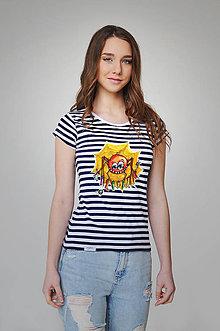 Tričká - Dámske tričko - Pavúčik Filip - 9357374_