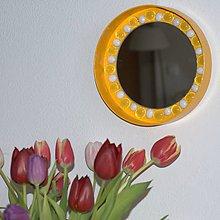 Zrkadlá - Zrkadlo mozaika Žltá AKCIA!!! - 9357688_