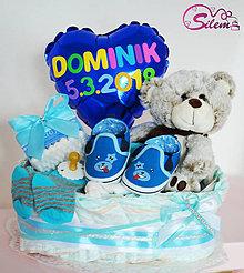 Detské doplnky - Plienkové košíky na želanie - 9358718_
