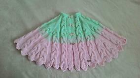 Detské oblečenie - Pelerínka - 9359744_