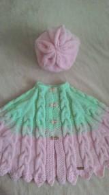Detské oblečenie - Pelerínka - 9359746_