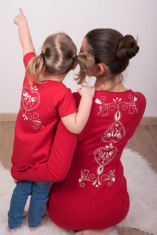 35445952942 Setík - červený folk   miracles.style - SAShE.sk - Handmade Šaty