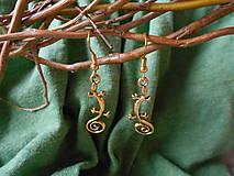 Náušnice - Náušnice kovové - Jašteričky - 9357000_