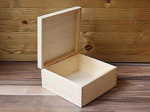 Polotovary - masívna krabička - 9356965_