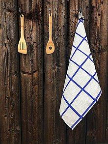 Úžitkový textil - Ľanová utierka - 9358223_
