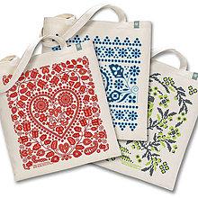 Nákupné tašky - Tri čarovné tašky natural - 9358949_