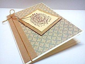 Papiernictvo - Pohľadnica ... Indický kvet - 9362544_