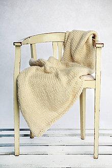 Úžitkový textil - Deka  pre bábätko (Biela) - 9363170_