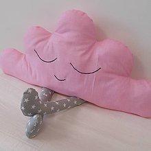 Úžitkový textil - *Ružový obláčik* - 9362067_