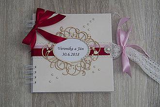 Papiernictvo - Svadobná kniha hostí - 9362658_