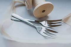 Pomôcky - Vidličky Pán a Pani ❤ - 9360460_