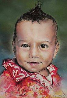Kresby - Chlapček-portrét - 9362301_