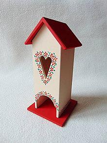 Krabičky - Maľovaný domček na čaj - 9361692_