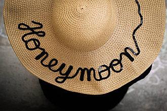 Čiapky - Letný klobúk pieskovej farby - 9361613_